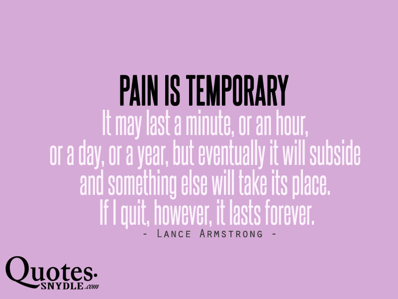 Quotes About Overcoming Pain: Twentysomething: My Life After College